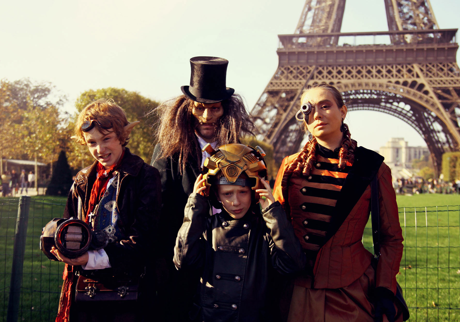 Steampunk meeting in Paris